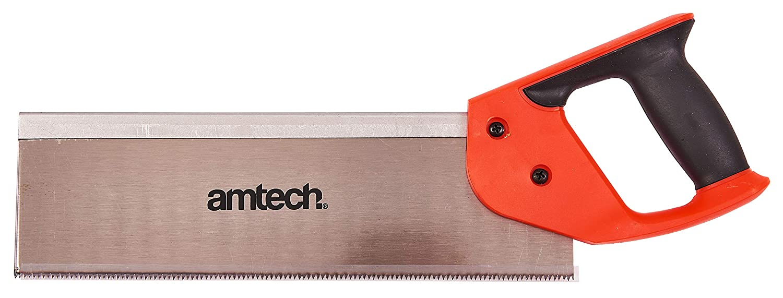 Am-Tech Scie /à araser 30,4 cm avec poign/ée antid/érapante bicolore Import Grande Bretagne