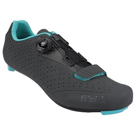 Amazon.com: Fizi:k Womens R5B Uomo Road Shoes - Performance Exclusive 39.5 MATTE GREY/MINT: Sports & Outdoors