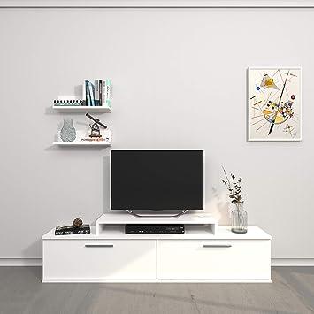 Theta design by homemania-TV, Mobile TV Orione, weiß: Amazon.de ...