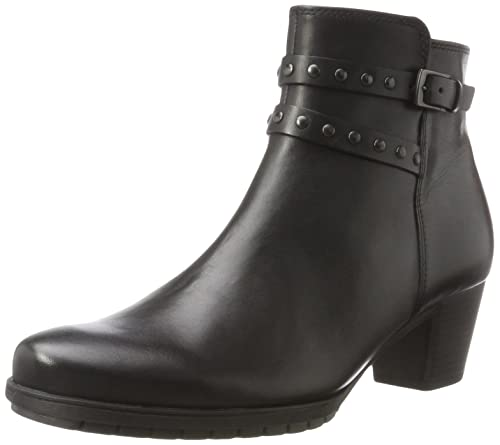 Shoes Womens Comfort Fashion Boots, Black (Schwarz Micro), 7 UK Gabor