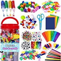 1000PCS Arts and Crafts Supplies for Kids Toddler DIY Art Craft Kits Crafting Materials Toys Set for School Home…