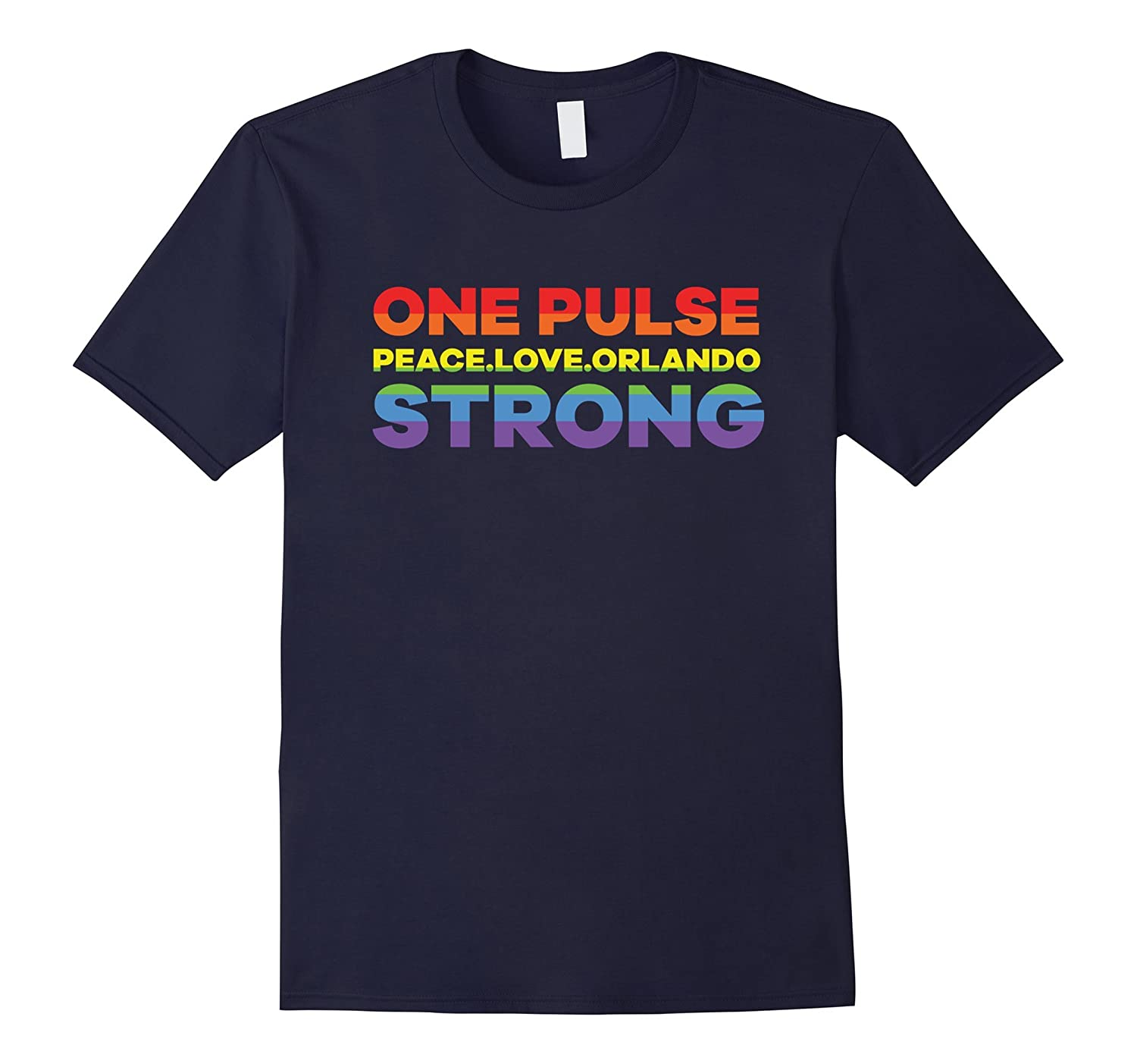 One Pulse peace.love.orlando Strong Gay Lesbian T Shirt-BN