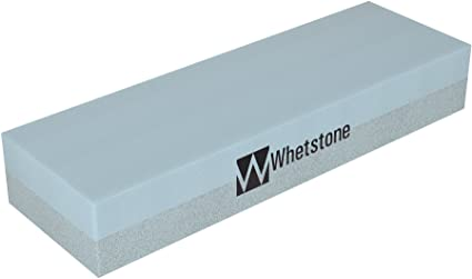 Two-Sided Rectangular Stone Block w// 400 /& 100 Grit for Rough /& Fine Finishing