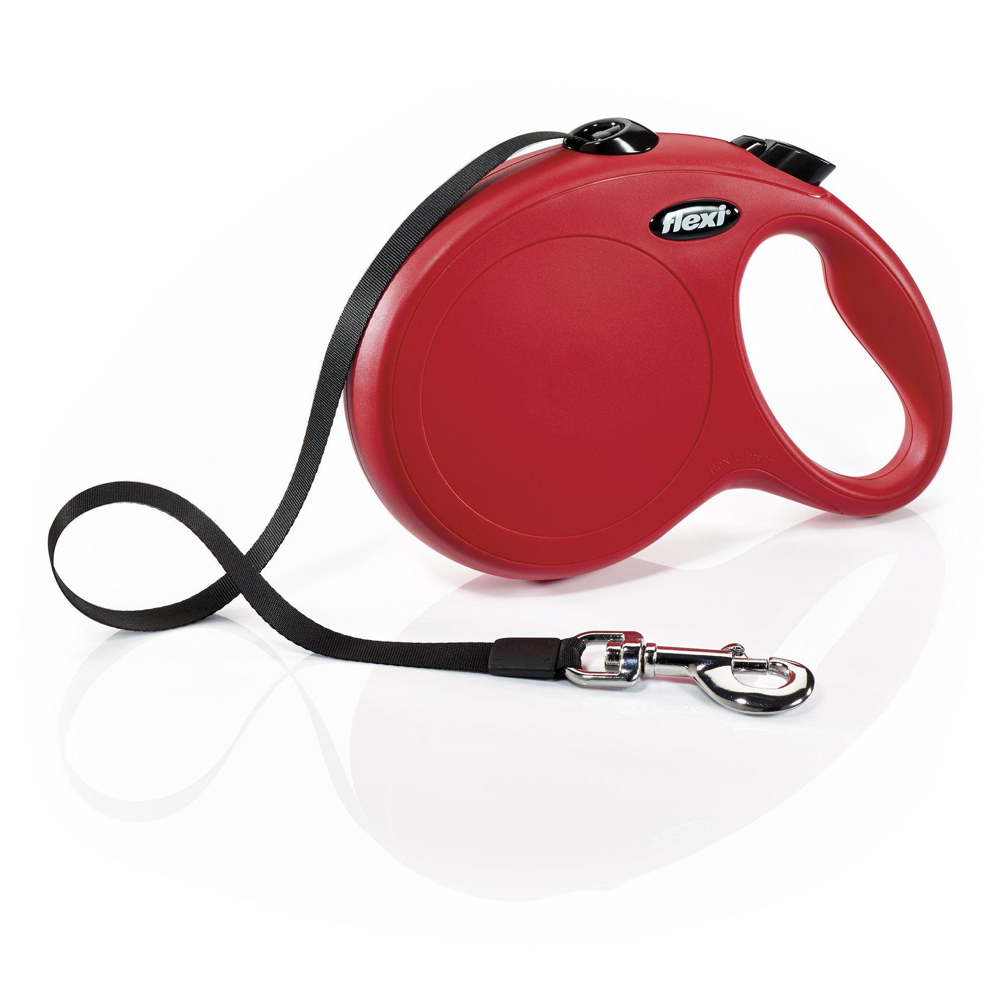 Flexi New Classic Tape Retractable Leash, Red, Large/26' by Flexi