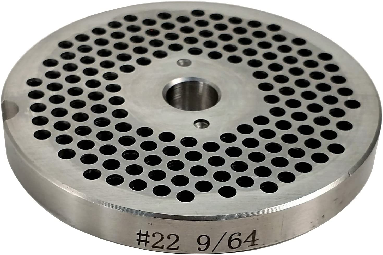 Food Service Knives #22 Meat Grinder Plate (9/64 in.)