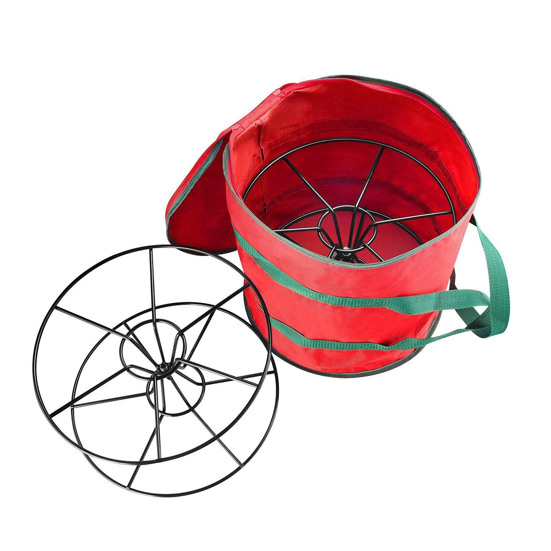 Elf Stor Light Storage Bag with Steel Reels (Holds 2 100-Feet Strands) 1028 Elf Light Reel