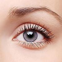 Kaniem 1 Pair of Tone Colored-1enses, Enlarger Eyes Supernatural_1ens, Fashion Eye_1enses, Beautiful Charming Color Student_1ens Case Cosmetic Contact_1enses (Amethyst)