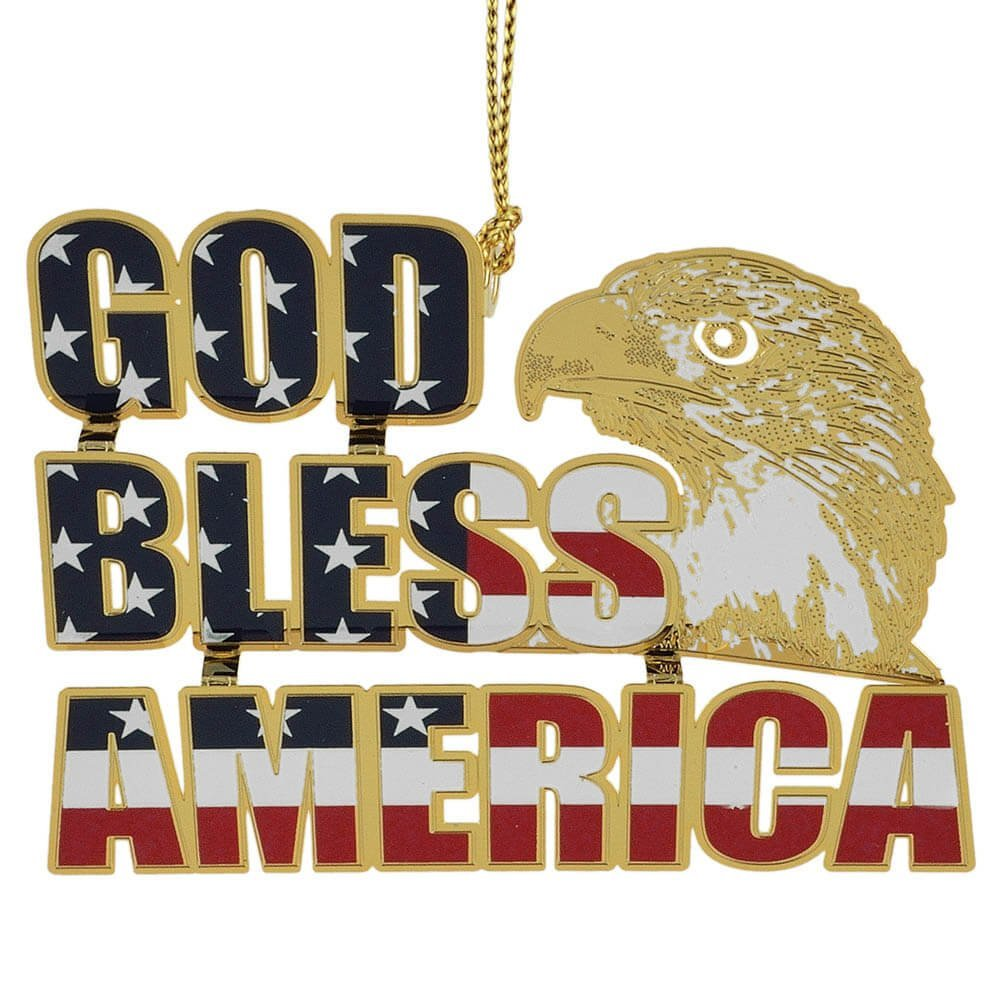 Beacon Design by ChemArt God Bless America Ornament
