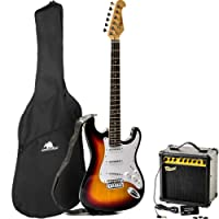 Redwood RS2 Electric Guitar / Redwood 15W Amplifier Beginners Pack - Sunburst