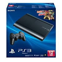 PS3 SUPER SLIM 12GB BLACK