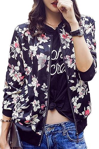 Chaqueta mujer manga larga ropa Floral