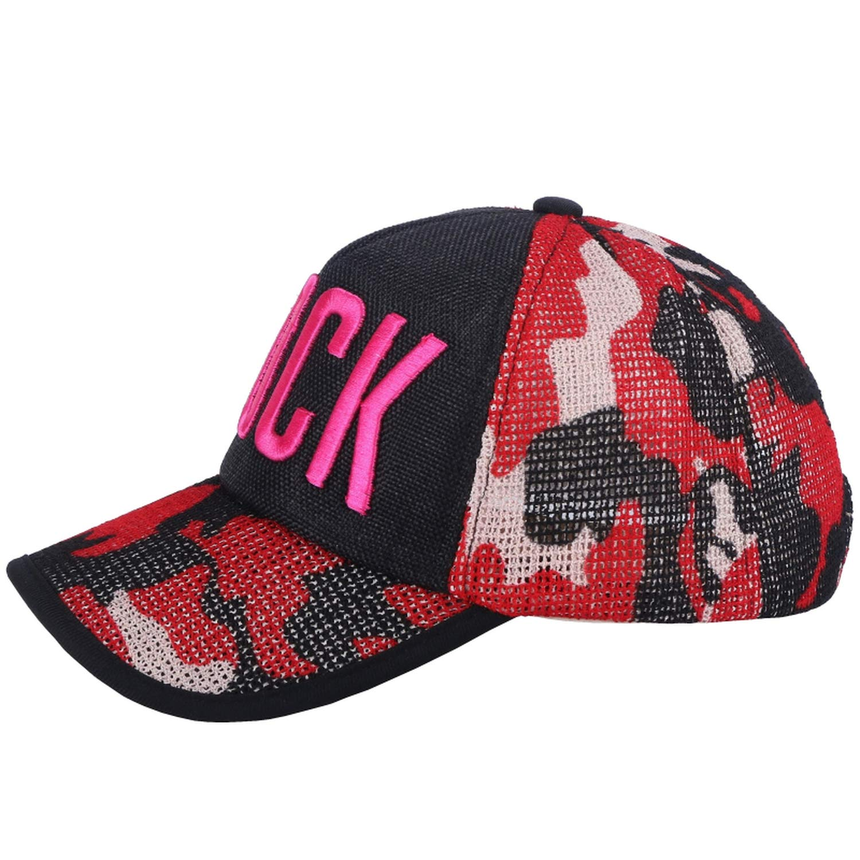 Xivikow Women Girl Luxury Summer Cap hat Black Silver Pink Sequin Handmade mesh Cool Sports Baseball caps