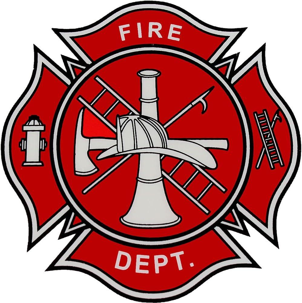 Amazon.com: Fire Department Logo Decal: Automotive