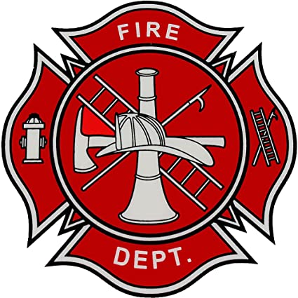 amazon com fire department logo decal automotive rh amazon com fire department logos clip art fire department logos blank