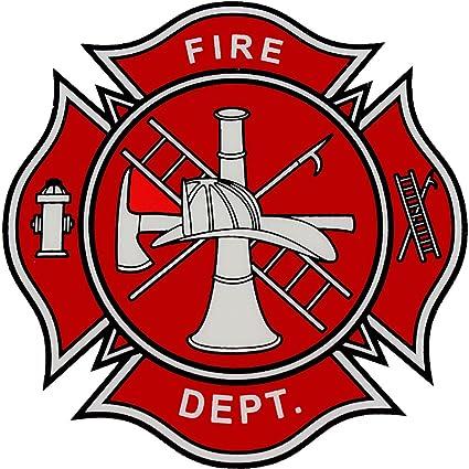 amazon com fire department logo decal automotive rh amazon com fire department logos svg fire department logos blank