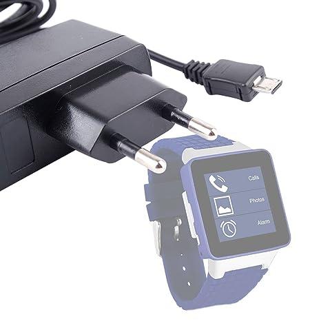 Duragadget Chargeur Secteur de première qualité (1A) pour montre connectée Carrefour SimWatch SSW01 &