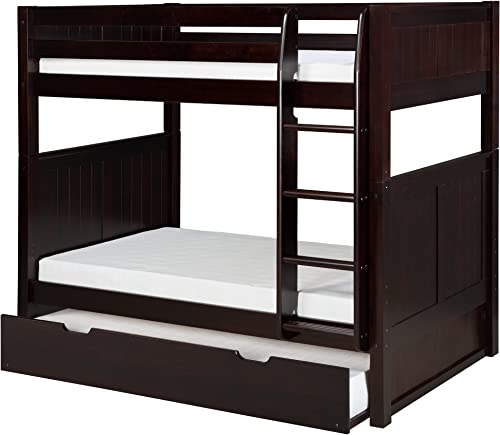 Camaflexi Panel Style Solid Wood Bunk Bed