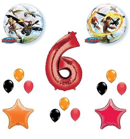Amazon.com: Cómo entrenar a tu dragón para fiestas de 6º ...