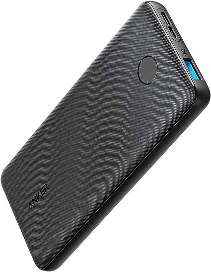 Anker PowerCore Slim 10000(モバイルバッテリー 大容量 薄型 10000mAh)【USB-C入力ポート/PSE技術基準適合/PowerIQ & VoltageBoost/低電流モード搭載】iPhone & Android 各種対応