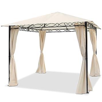 Bevorzugt Amazon.de: TOOLPORT Gartenpavillon 3x3 m wasserdicht Pavillon mit HE84