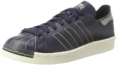 new styles e59c7 22a25 adidas Damen Superstar 80s Decon Sneaker Blau Legend InkOff White, 36 EU