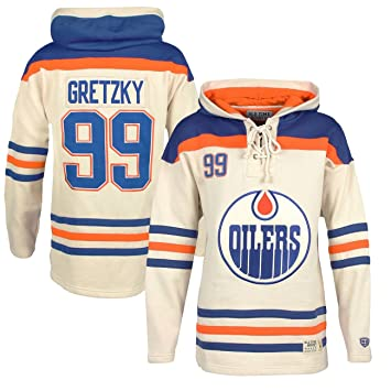 the latest 8684d 0ca42 OTH Edmonton Oilers Wayne Gretzky Lacer Jersey Hoodie NHL ...