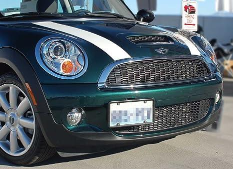Mini Cooper/Cooper S frontal de la matrícula Soporte Marco sin agujeros, para 4
