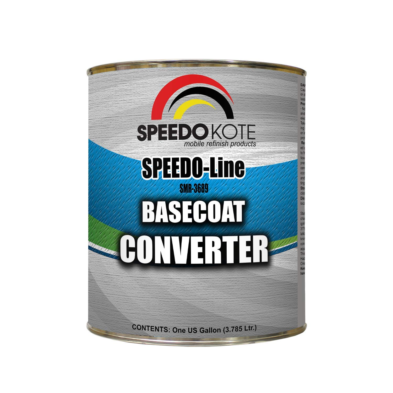 Speedokote Basecoat Converter for automotive base coat, One Gallon SMR-3689 by Speedokote