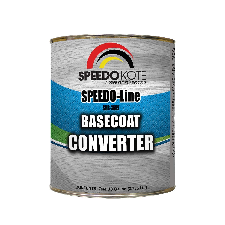 Speedokote Basecoat Converter for automotive base coat, One Gallon SMR-3689