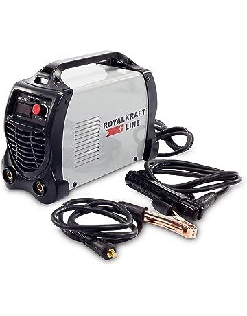TrAdE shop Traesio Soldadura de electrodo Eléctrica Inversor IGBT Soldadura 300 A Cerrajero Cable 2 MT