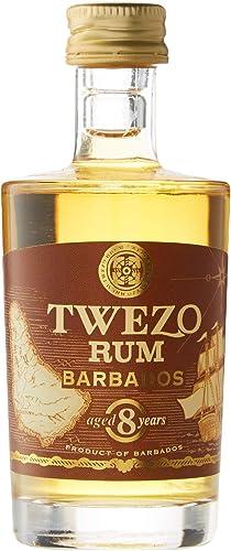 Twezo 8 Años de Edad Ron de Barbados - 50 ml