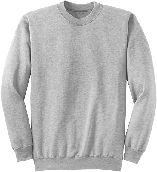 Adult Soft and Cozy Crewneck Sweatshirts in 28 Colors in Sizes S 4XL