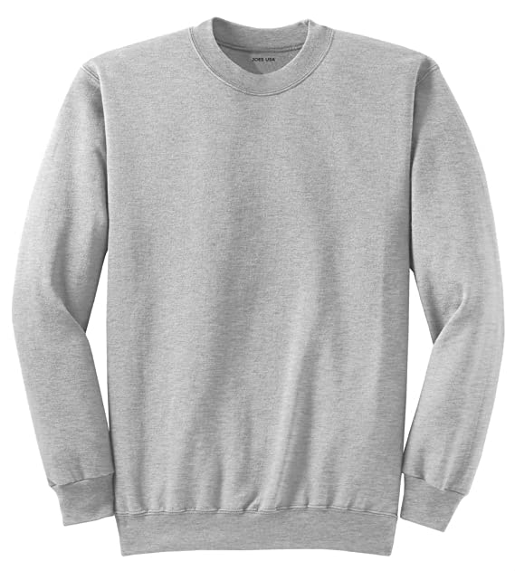 83a1efbea16 Adult Soft and Cozy Crewneck Sweatshirts in 28 Colors in Sizes S-4XL ...