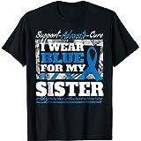 I Wear Blue For My Sister Alopecia Awareness Shirt