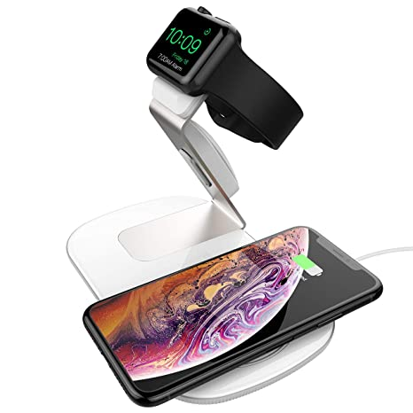 Holife Cargador Inalámbrico Rápido para Samsung S8, S7 Plus, S7 Edge, S6 Edge Plus