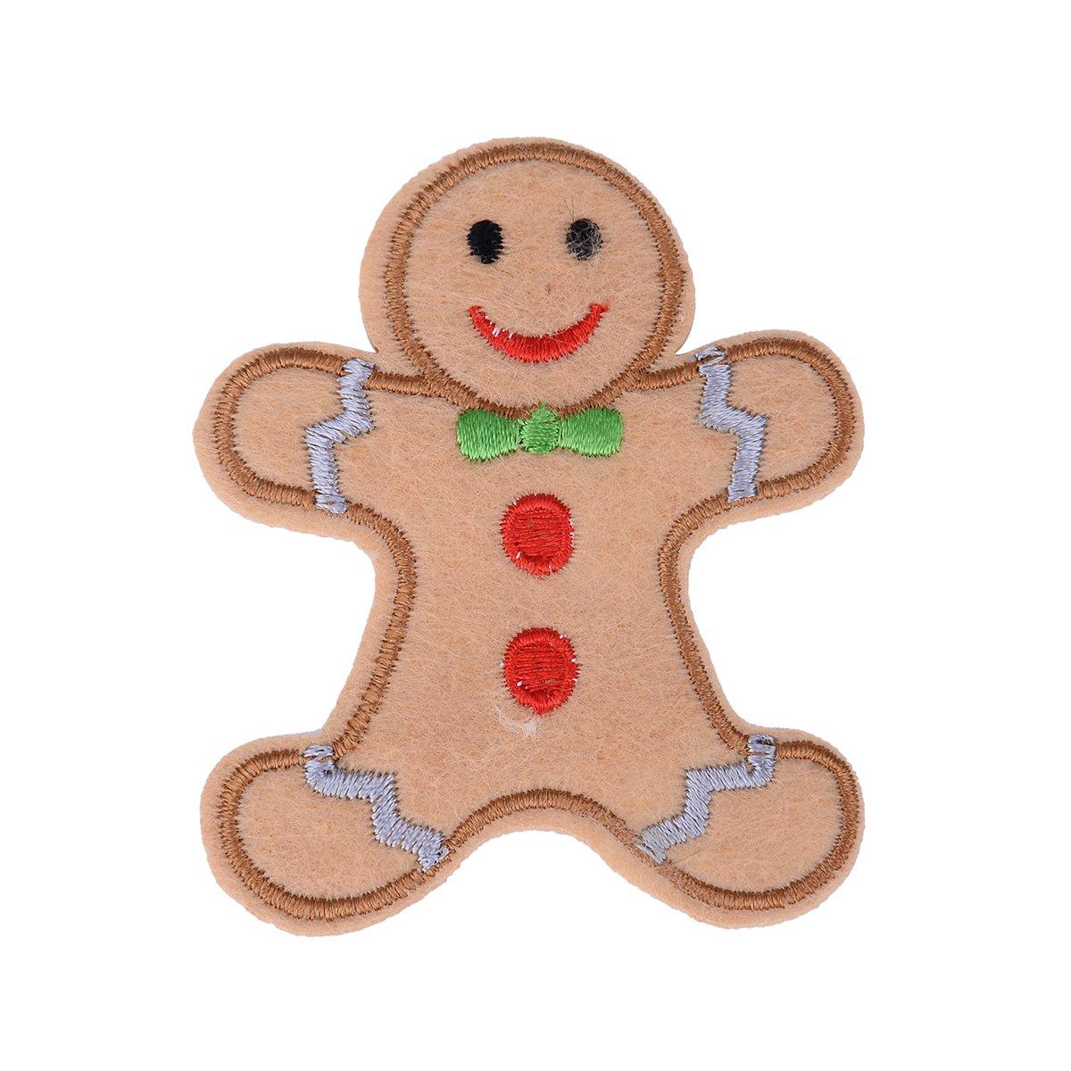 Amazon Com 5pcs 7x5 9cm Chocolate Gingerbread Man Christmas