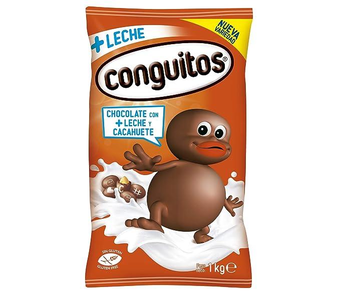 Conguitos, Fruto seco cubierto de chocolate (Con Leche) - 4 de 1000 gr