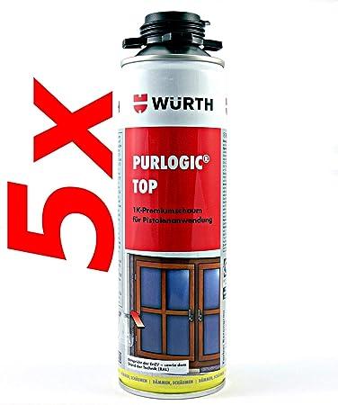 5 Würth purlogic Top 1 K - Pistola de espuma hormigón gris Diseño ...