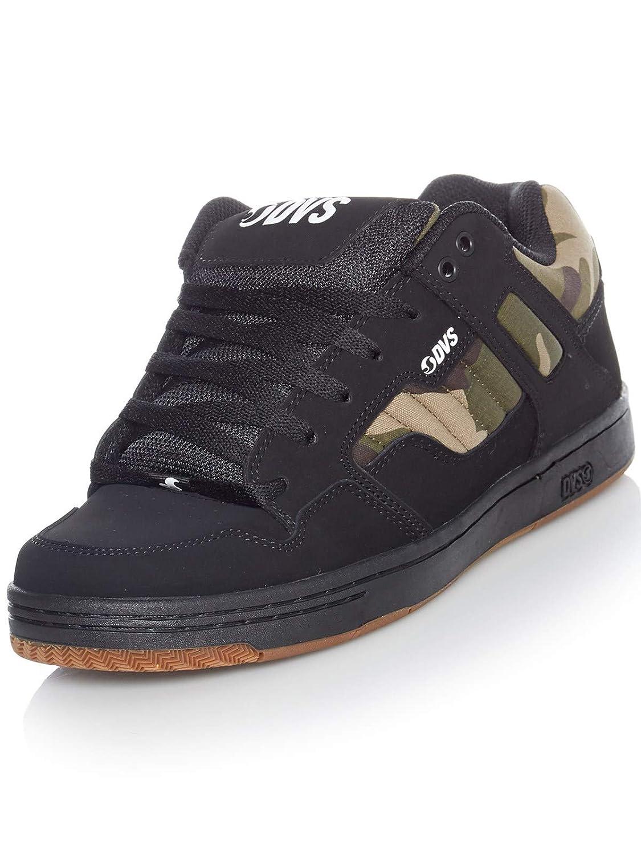 Chaussures DVS Jason Anderson Enduro 125 Signature Series Noir Camo Leather EU 37 // US 5, Noir