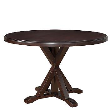 Amazoncom Carolina Chair  Table ESP Monet X Base Dining - X base dining table