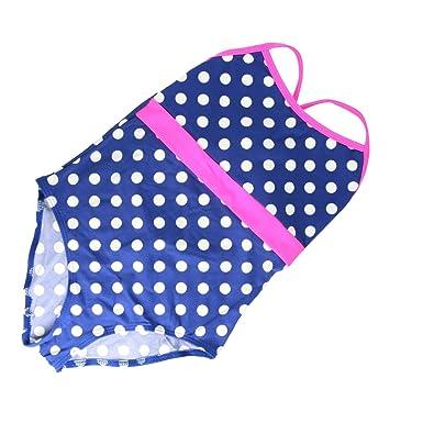 Loren Kids Girls Swimsuit Swimwear Swimming Costume Beachwear 7 13