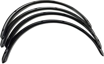 30mm Universal JDM Fender Flares Wheel Arch 1.2 inch 4pcs Wide set ABS Plastic