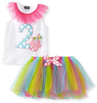 97bda4f0fb74b Image Unavailable. Image not available for. Color: I'm 2 Little Girls  Birthday Tutu ...