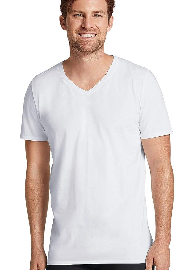 aa1f5fcf Jockey Men's T-Shirts Signature Pima Cotton V-Neck T-Shirt - 3 Pack at Amazon  Men's Clothing store: