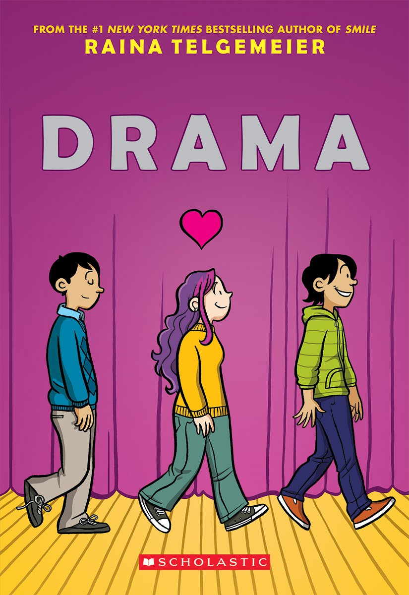 Image result for drama by raina telgemeier prezi