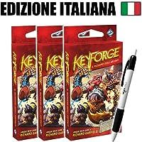 Bundle 3x Keyforge - Mazzo Il Richiamo degli Arconti (IT) + Penna Fantàsia!