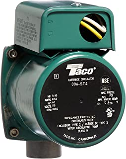 amazon com taco t563 2 temperature aquastat home improvement taco 006 st4 1 40 hp 115v stainless steel circulator pump