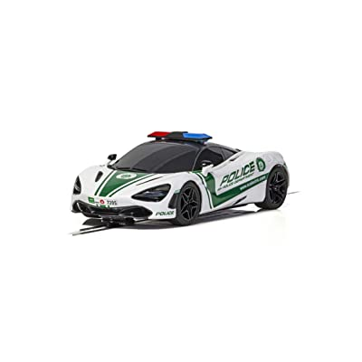 Scalextric McLaren 720S Police Car 1:32 Slot Race Car C4056: Toys & Games