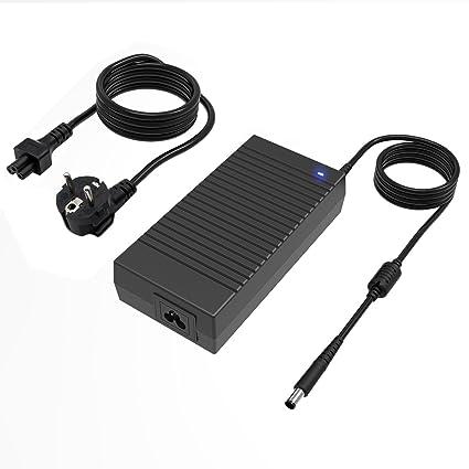 Cargador Adaptador para Ordenador Portátil Dell 180W 19.5V 9.5A 7.4x5.0 mm para Dell Alienware M14x1 M15X M17x M17x R3 X51 X51 R2;Dell Precision 15 ...