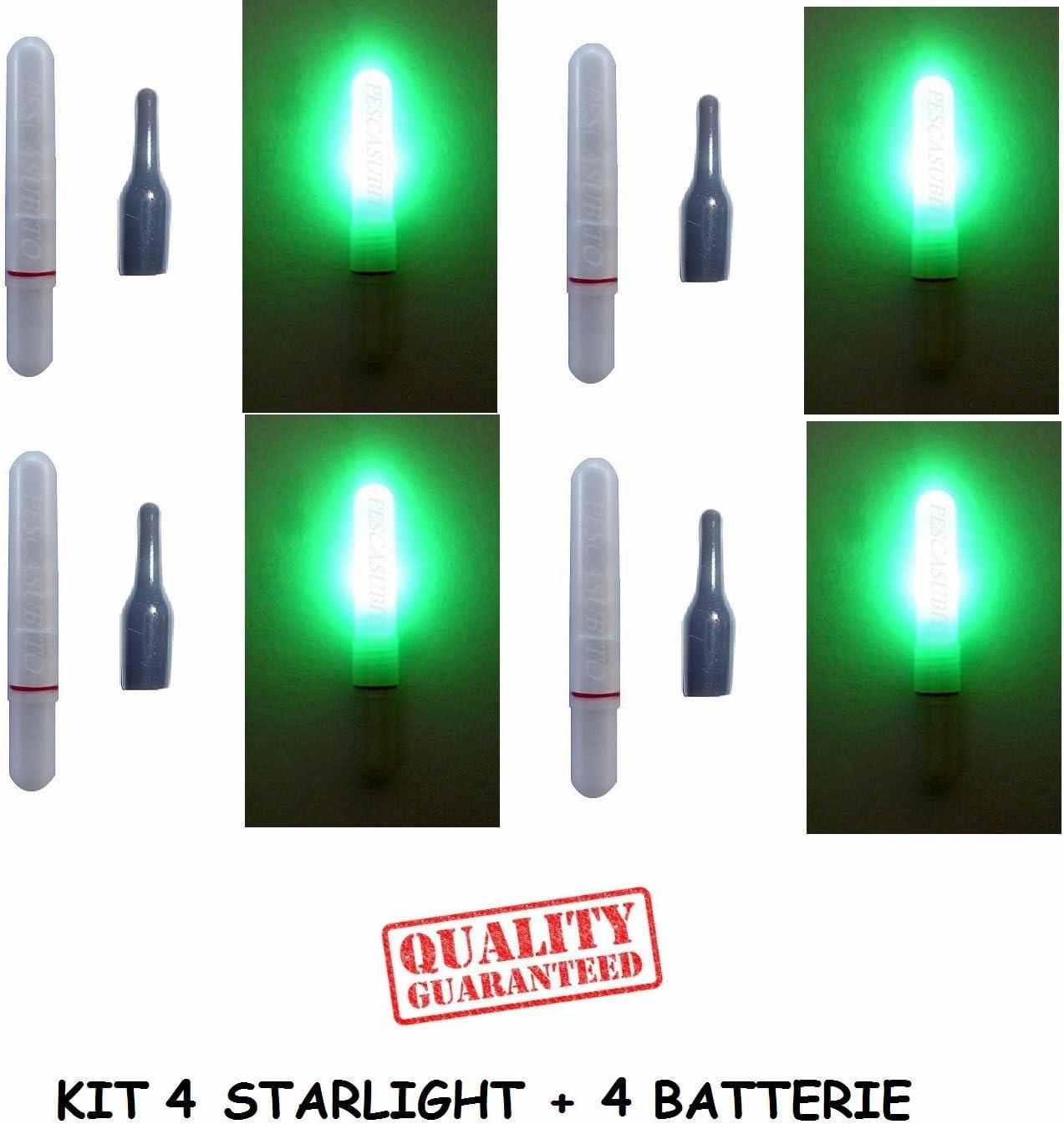 Starlight Pesca Starlite Night Light Luce Verde  4,5 x 39 Offerta Galleggianti